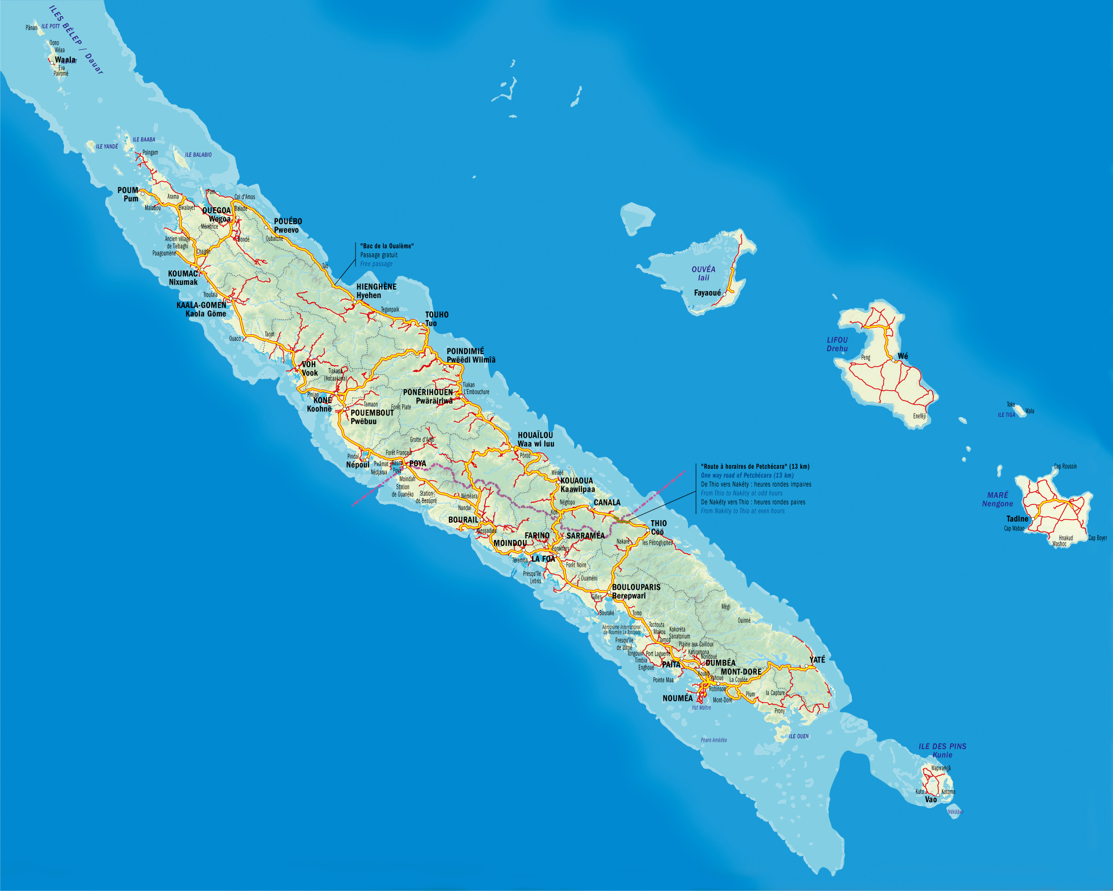 New Caledonia Map | Download Free New Caledonia Maps in PDF
