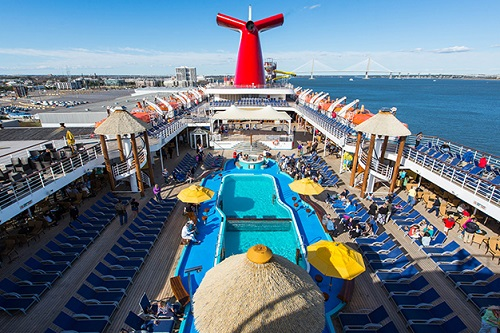 The Carnival Cruise Inside